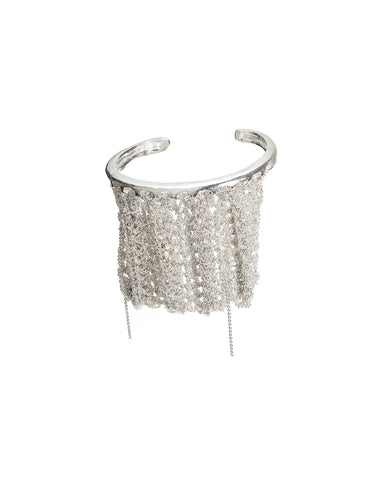 Slide-On Ribbed Bracelet