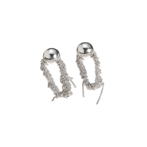 - Crying Island Earrings - Silver -