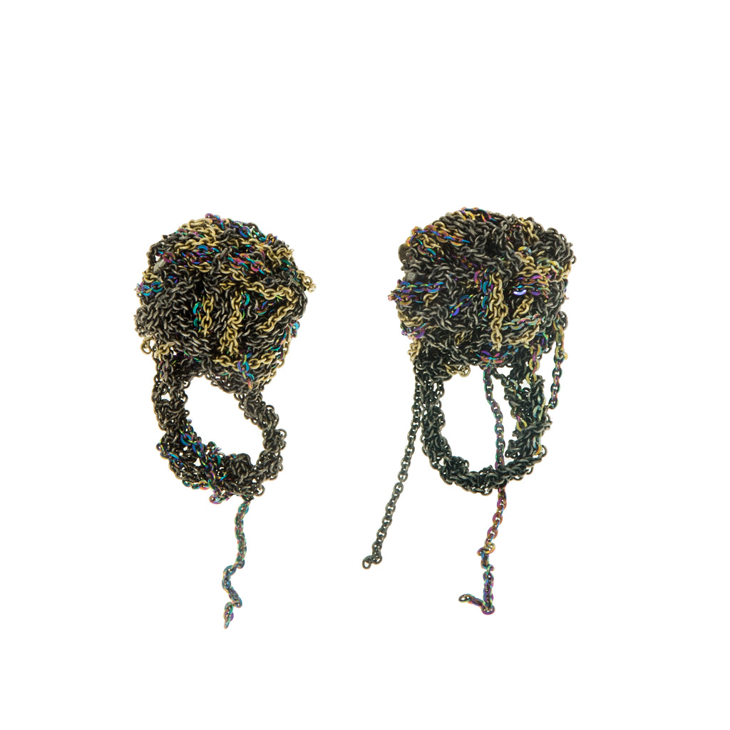 Fleuret Earrings in Faded + Spectrum + Haze