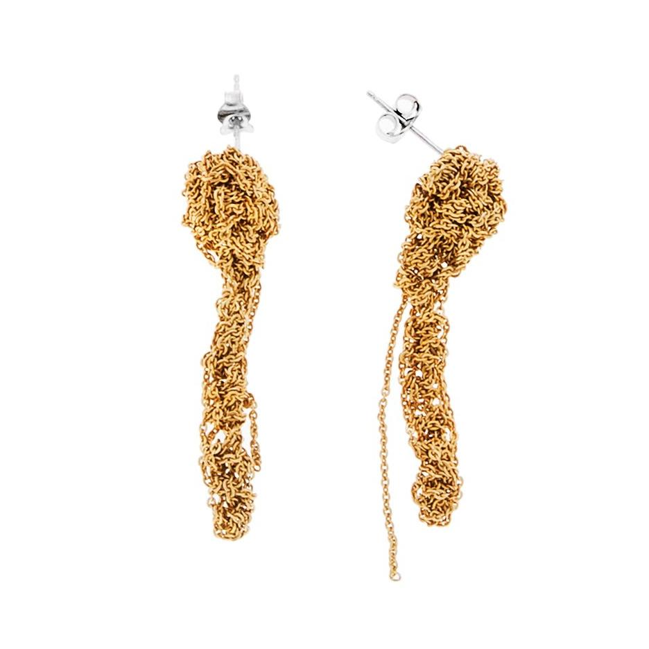 Dingler Earrings in Gold