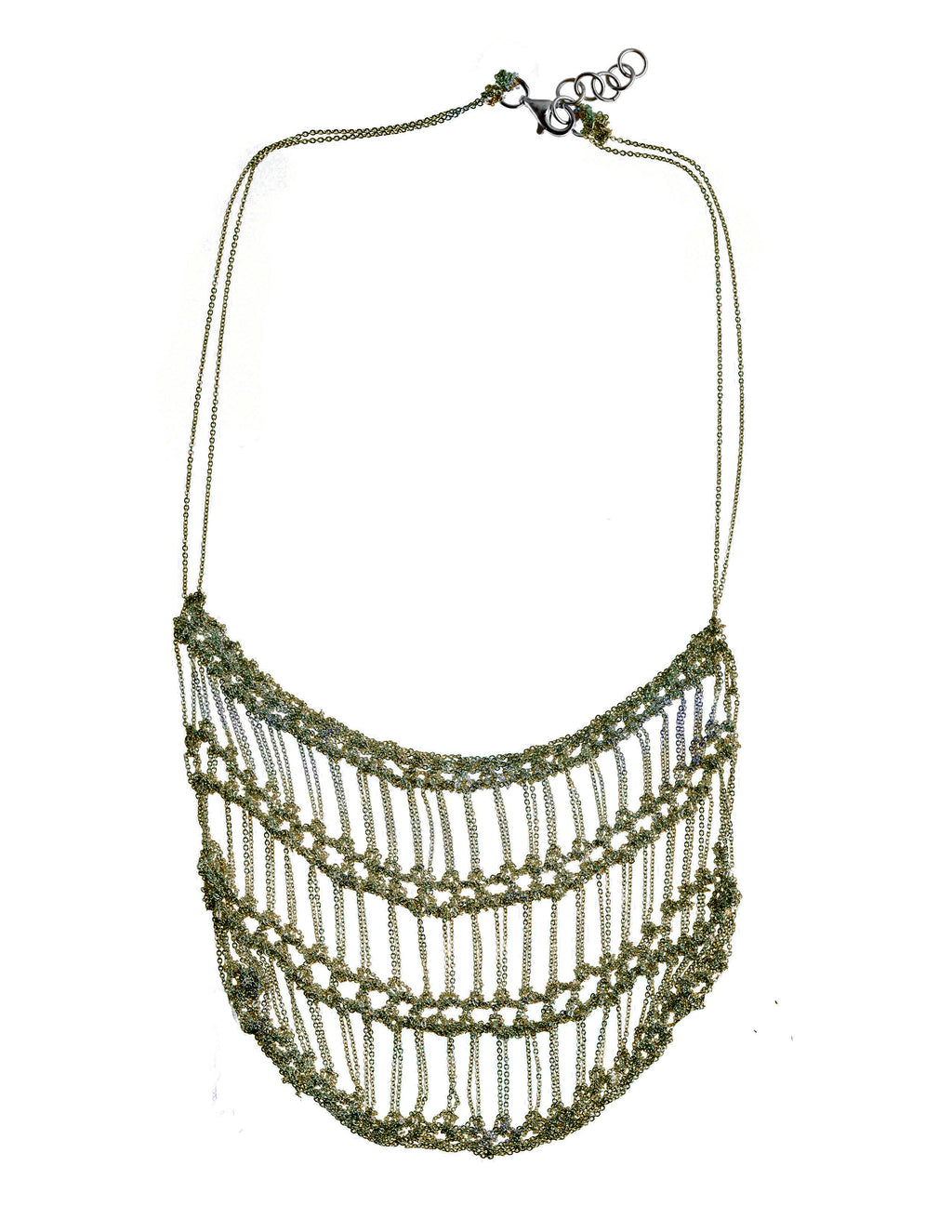 Frame Necklace in Anti-Peach