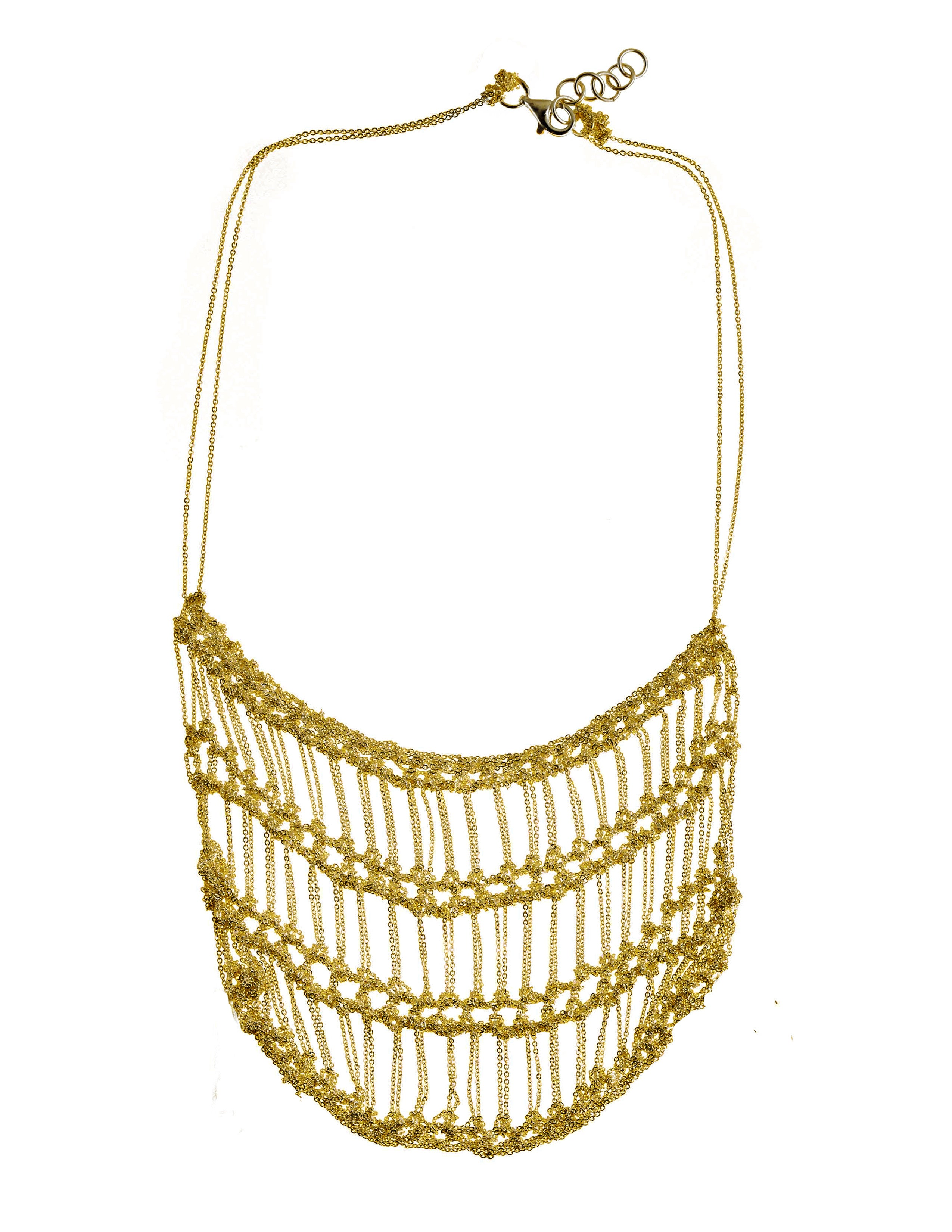 Frame Necklace in Gold