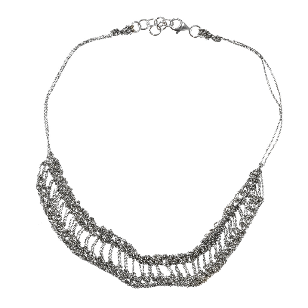 Slink Necklace in Ash
