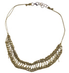 Slink Necklace in Haze Gold