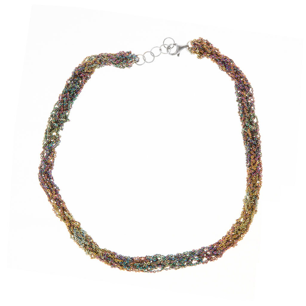 Pipette Necklace in Spectrum