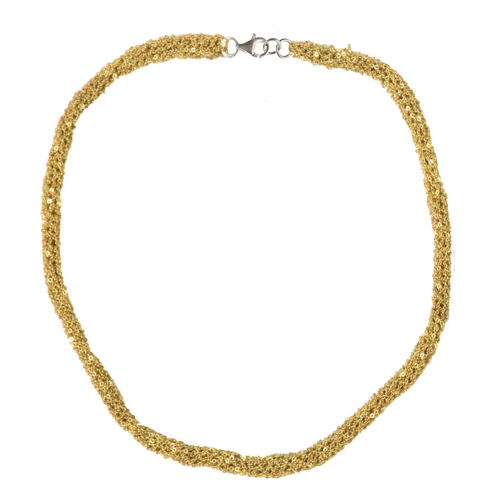 Pipette Necklace in Gold