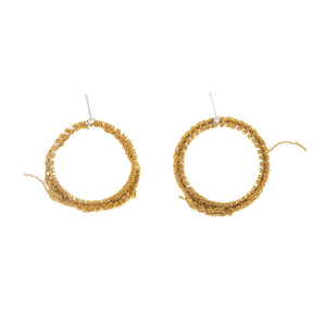 Hi Noon Hoop Earrings in Gold
