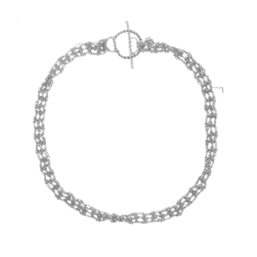 Baby Tee Necklace in Silver - Pre-Order Only