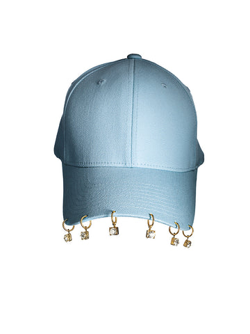 - Crystal Cap - Light blue -