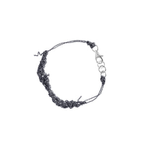 Bare Chain Bracelet in Midnight