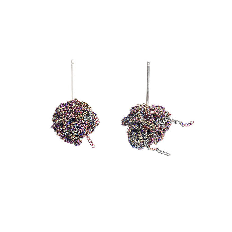 Bead Earrings in Spectrum