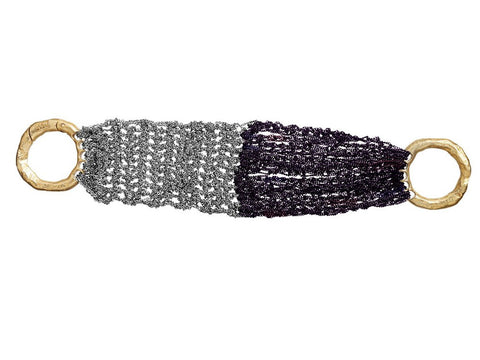 - The Buxom Bracelet - Ash + Plum -