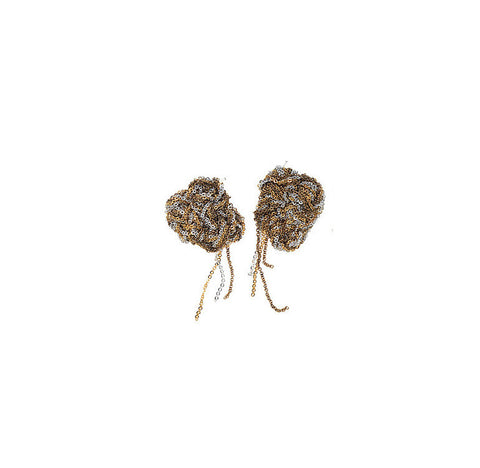 Blended Nugget Earrings - SS14