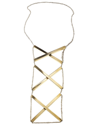 XXX scaffold necklace