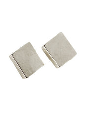 - Squared Earrings - Silver -