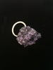 Crystal Boule Ring - Violet + Charcoal