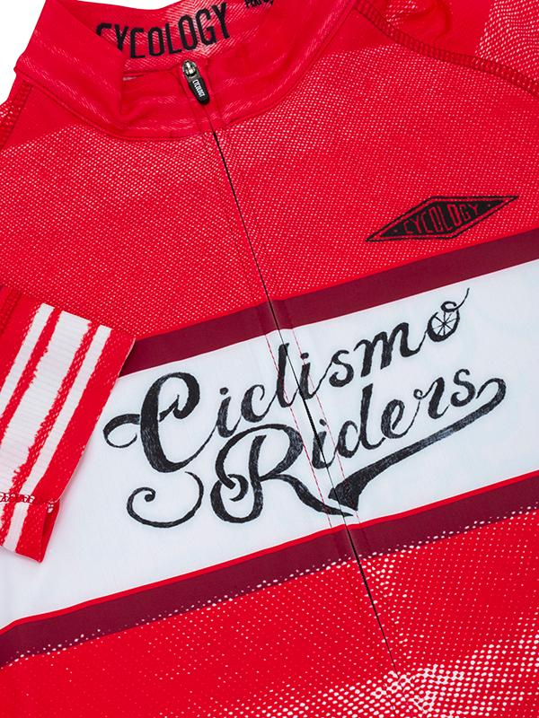 Fietsshirt heren Ciclismo red