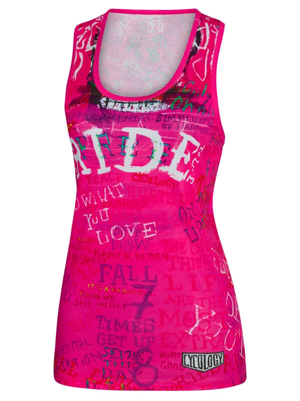 Cycology Ride Dames Sport Singlet