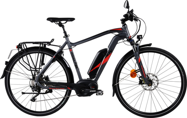 S-Commuter Speed Pedelec - Mat Antraciet Rood
