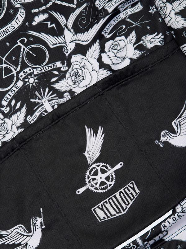 Cycology Winddichte Fietsjas Velo Tattoo