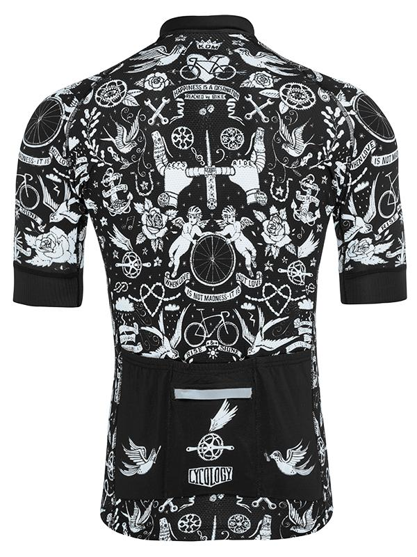 Fietsshirt heren Velo Tattoo