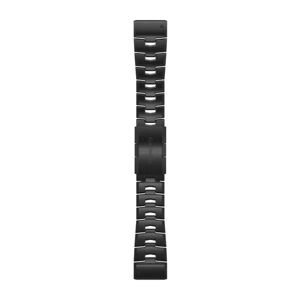 Garmin Quickfit DLC Titanium band - 26 mm - Carbon Gray