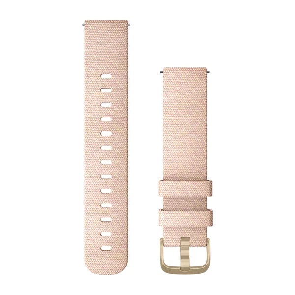 Garmin Quick Release Siliconen band - 20 mm - Blush Pink