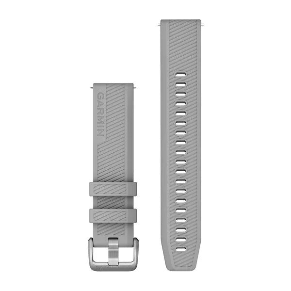 Garmin Quick Release Siliconen band - 20 mm - Grijs