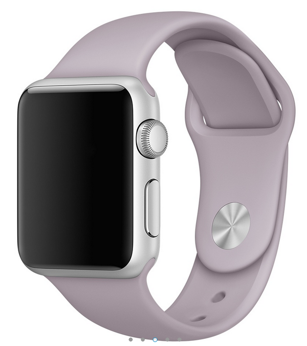 Apple siliconen band lavendel