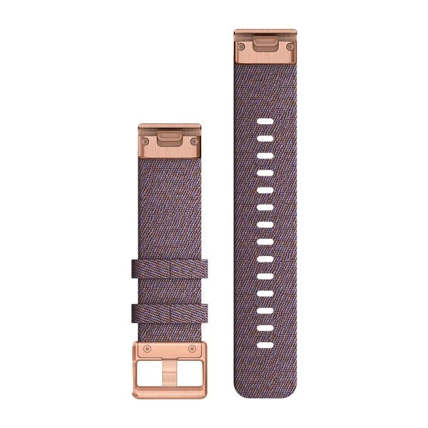 Garmin Quickfit horlogeband - Nylon - 20 mm - Purple Horizon