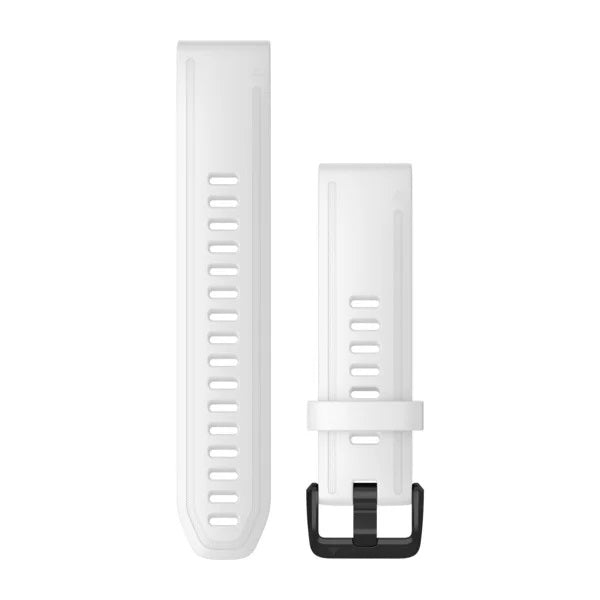 Garmin Quickfit horlogeband - Siliconen - 20 mm - White