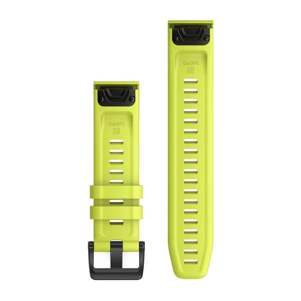 Garmin Quickfit Siliconen band - 22 mm - Amp Yellow