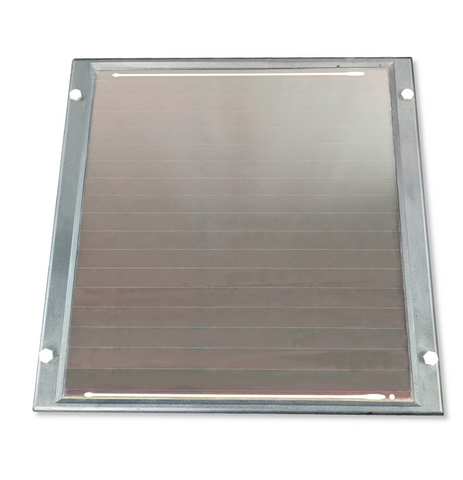 ReNEWed Wind and Solar - 5w 12V solar panel for remote power and battery charging applications