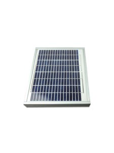 ReNEWed Wind and Solar - 10w 12V solar panel for remote power and battery charging applications