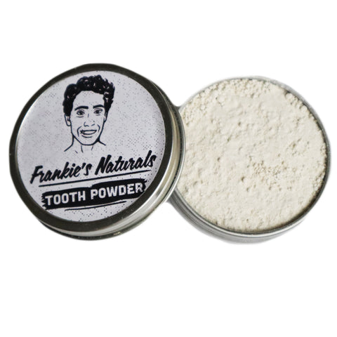 Fluoride Free Tooth Powder