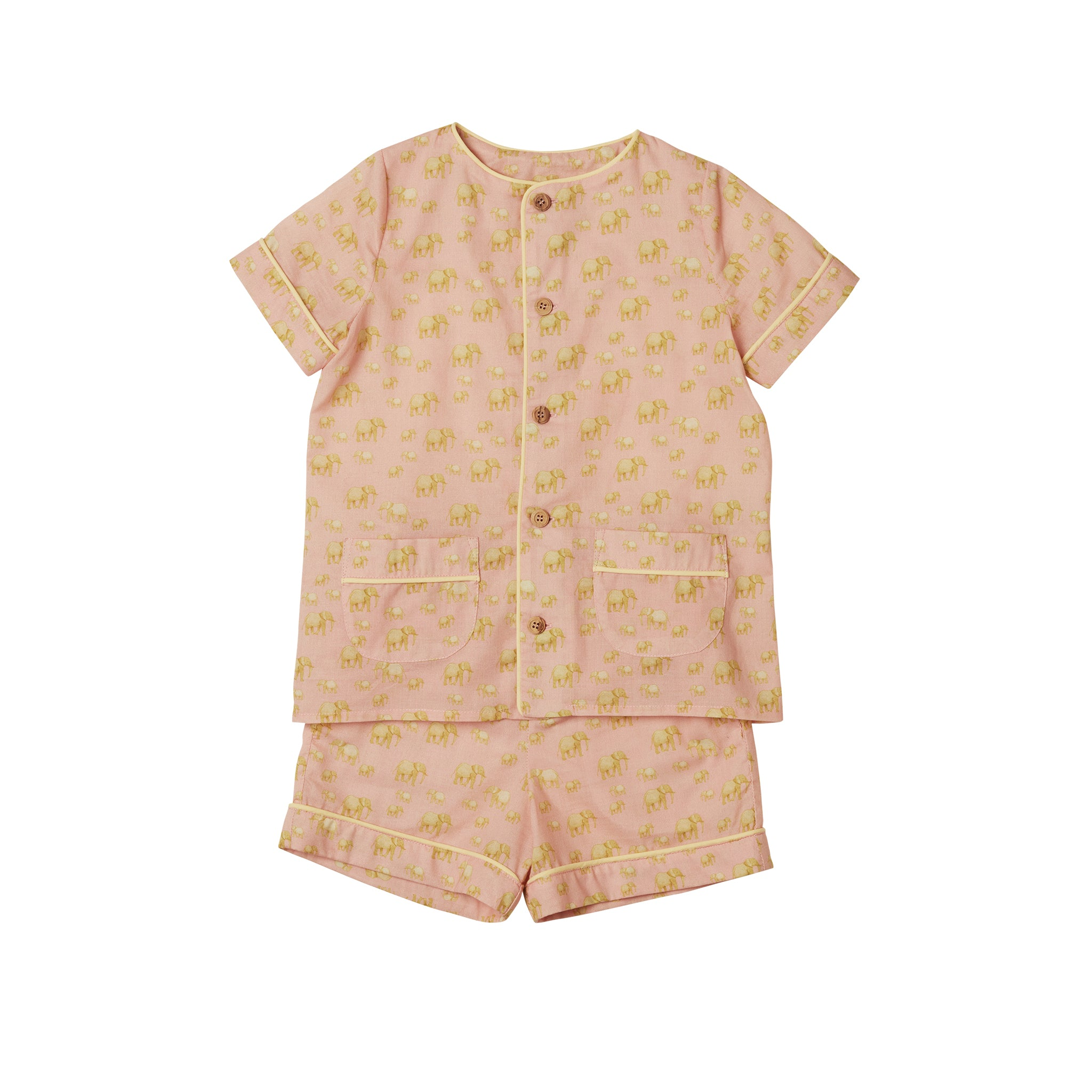 Pyjama GAB Elephants Pink / live Yellow