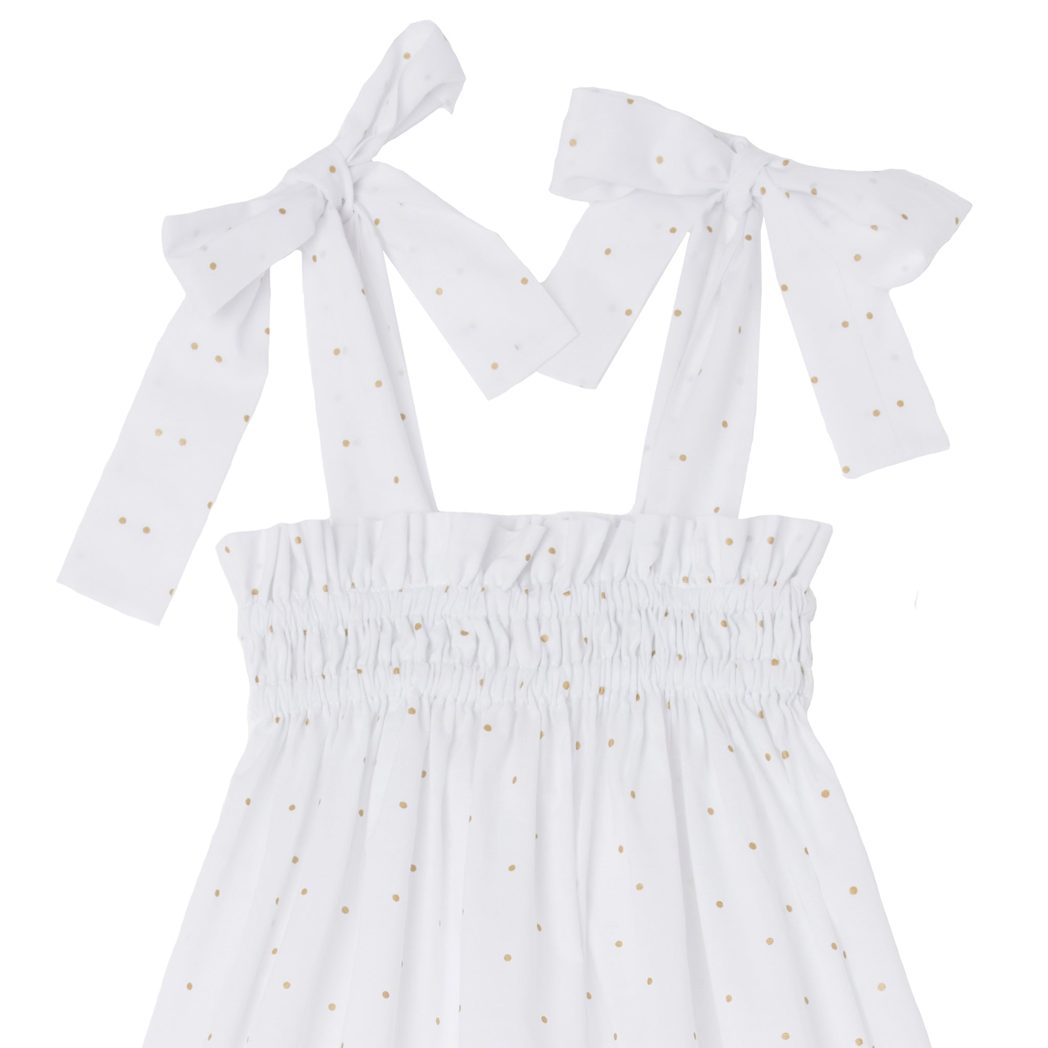 Nightdress EU White polka-dots