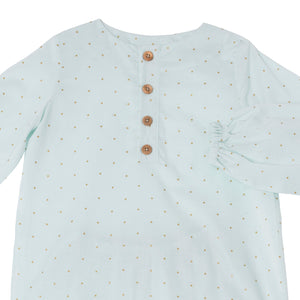 Pyjama CES Water Green polka-dots