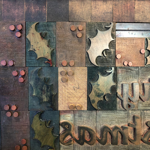RESCHEDULED: Introduction to Letterpress Printing Workshop (Festive Edition) (01/12/2019 – 10:00-15:00pm) - foursandeights