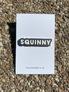 POMPEY TYPE SERIES - HARD ENAMEL PIN – SQUINNY