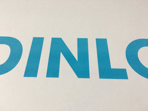 A3 DINLO RISO PRINT - POMPEY TYPE SERIES - foursandeights