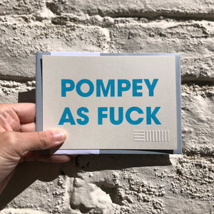 POMPEY TYPE SERIES RISOGRAPH POSTCARDS