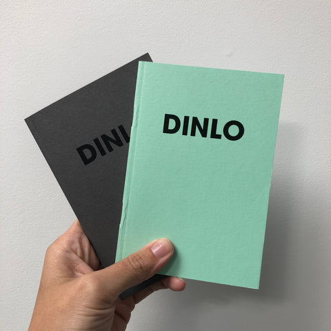 DINLO - POMPEY TYPE SERIES - A6 COLORPLAN NOTEBOOK MINT - foursandeights