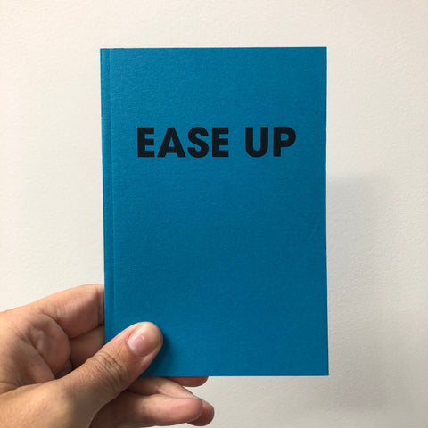 EASE UP – POMPEY TYPE SERIES - A6 COLORPLAN NOTEBOOK - foursandeights