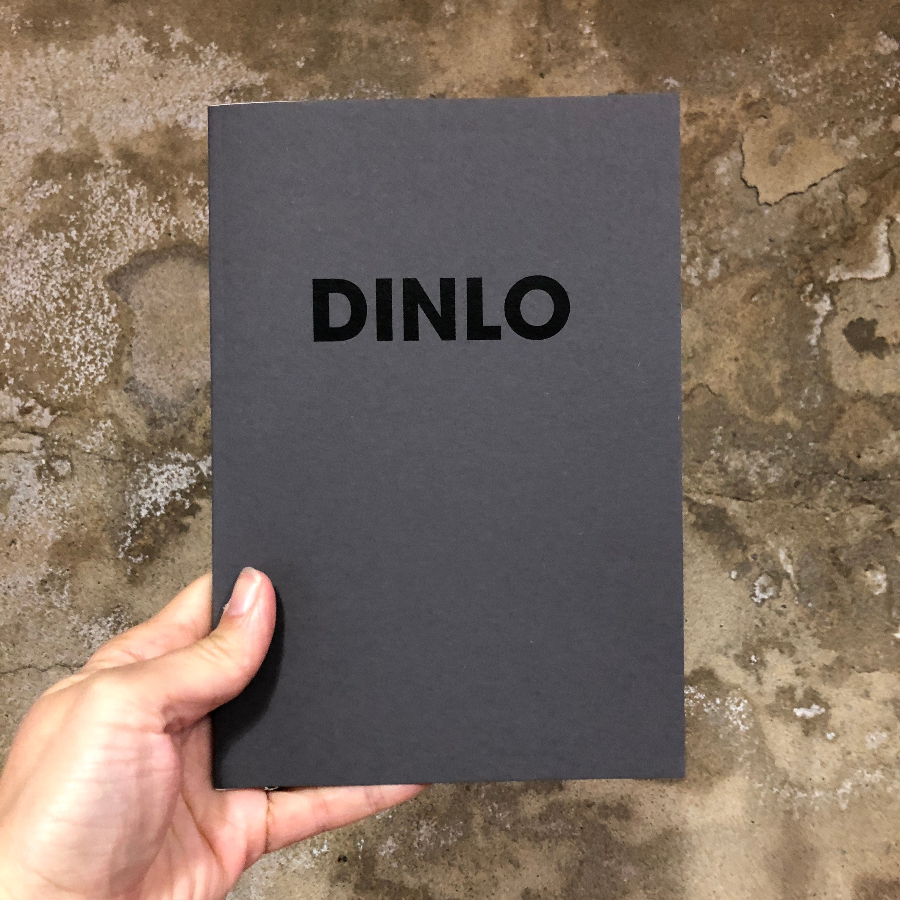 DINLO GREY – POMPEY TYPE SERIES - A5 COLORPLAN NOTEBOOK - foursandeights