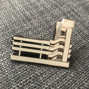 TRICORN – HARD ENAMEL PIN (Limited Edition) - foursandeights