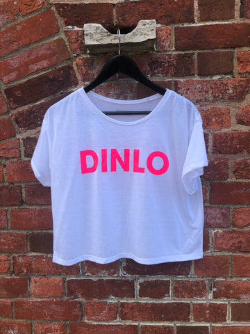 DINLO Cropped Tee – Pompey Type Series - foursandeights