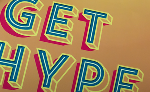 GET HYPE A2 DIGITAL PRINT - foursandeights