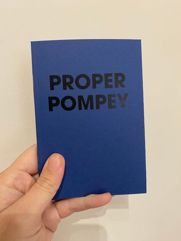 PROPER POMPEY - POMPEY TYPE SERIES - A6 COLORPLAN NOTEBOOK