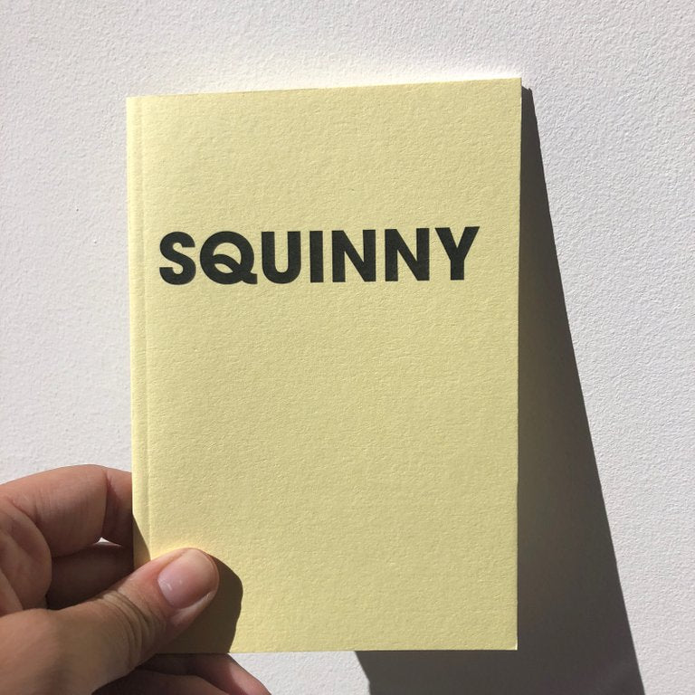 SQUINNY – POMPEY TYPE SERIES - A6 COLORPLAN NOTEBOOK - foursandeights